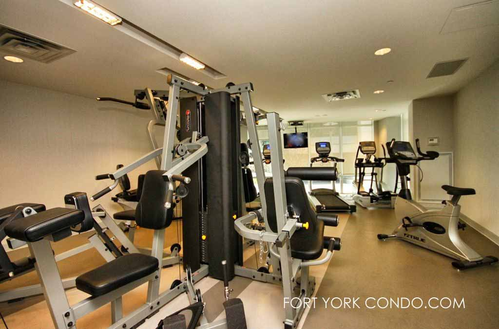 15 Bruyeres Mews gym