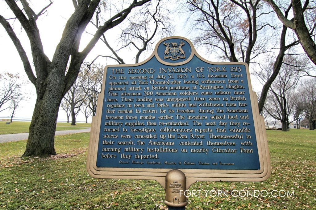 Historical Plaque for War of 1812