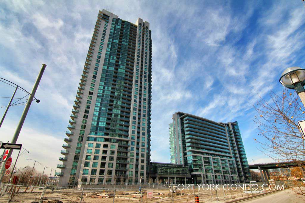 waterpark city condos beside june callwood park