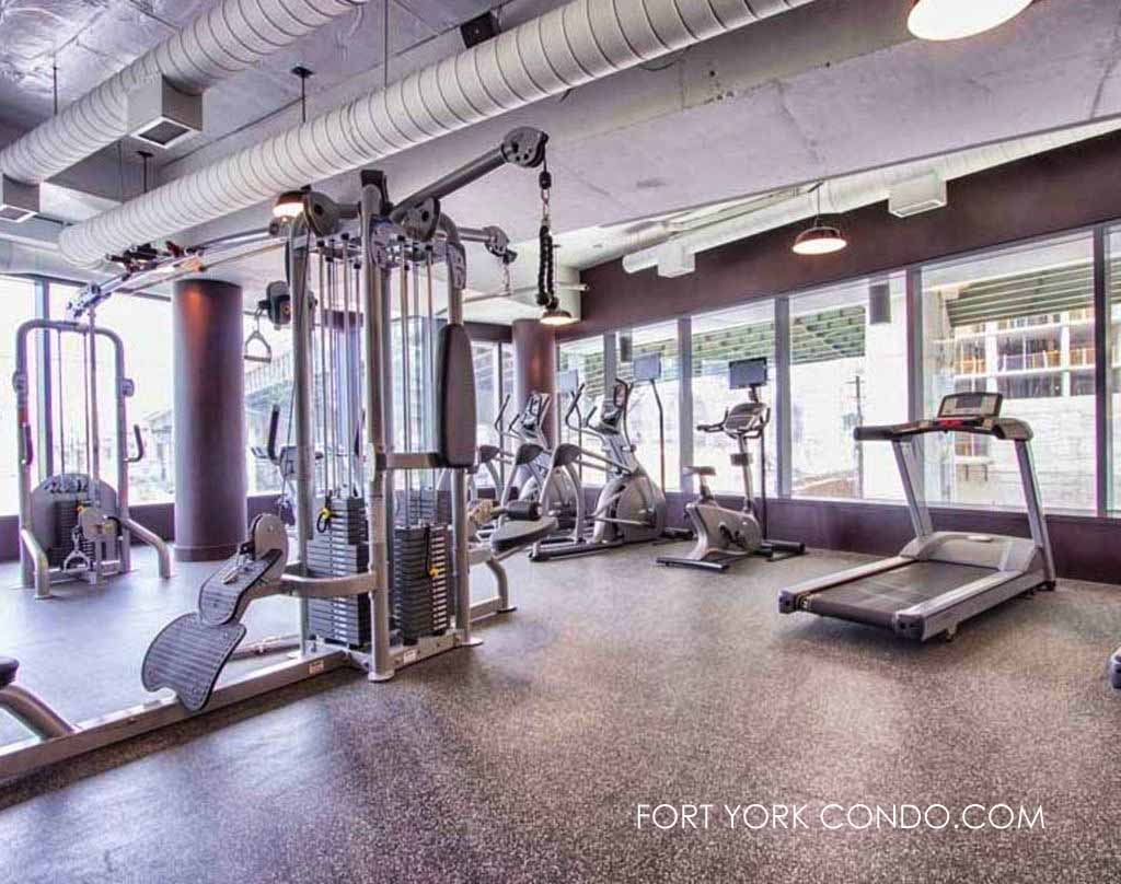 169 Fort York Blvd gym