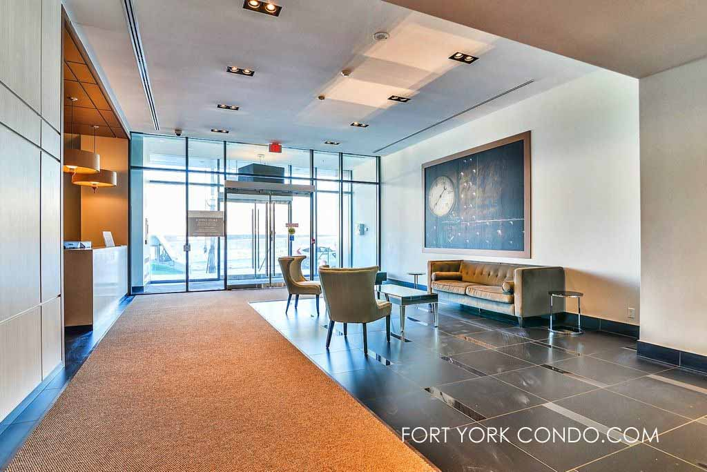 169 Fort York Blvd main lobby