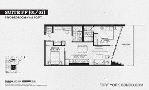 Garrison point 2 bedroom podium floor plan 813 sq ft