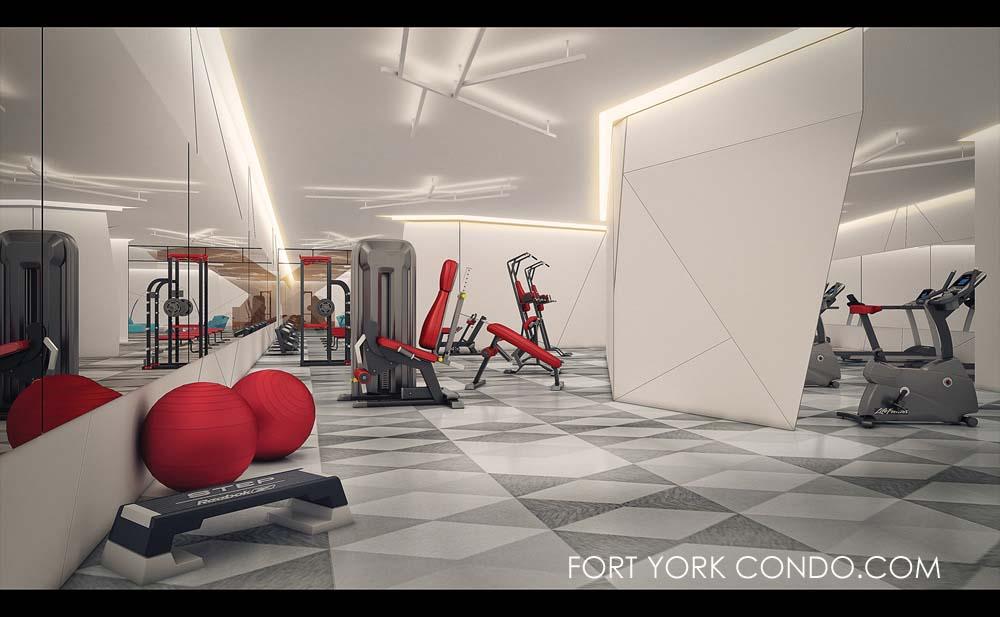 Garrison Point Amenities - Gym