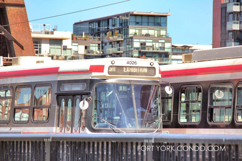 TTC Serving the Fort York condo neighbourhood